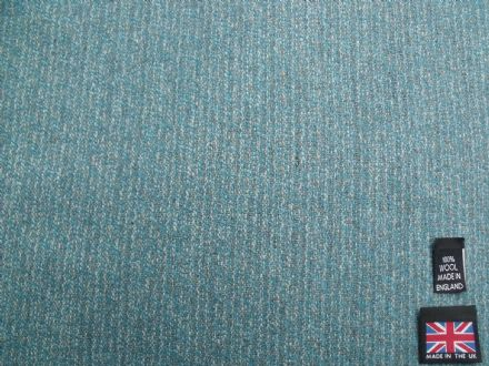 100% Pure New Wool Classic Tweed Fabric BZ32